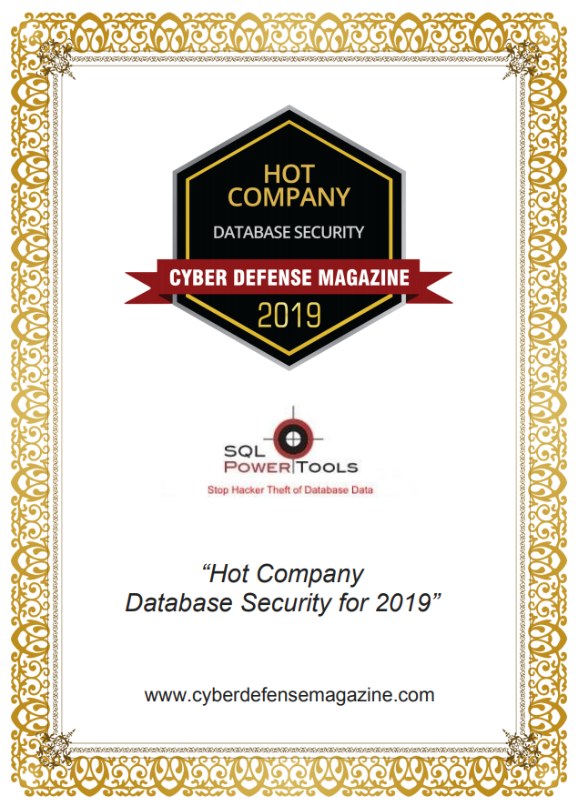 Hot Company Database Security for 2019